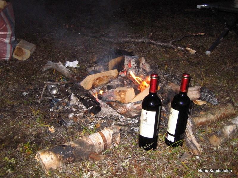 Vinen tempereres